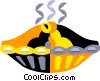 pie Vector Clipart image