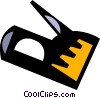 Vector Clipart picture  of a staple gun