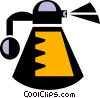 Vector Clip Art graphic  of a perfume bottle