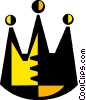 Vector Clipart image  of a crown