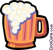 mug of beer Vector Clip Art image