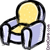 chair Vector Clipart illustration