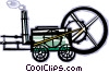 Vector Clipart image  of a farm machinery