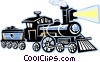 Steam locomotive Vector Clip Art picture