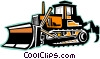 bulldozer Vector Clipart picture