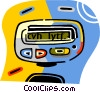 Vector Clipart graphic  of a pagers