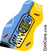 cell phones Vector Clip Art image
