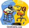 office equipment Vector Clip Art picture