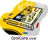 Vector Clip Art picture  of a computer boards