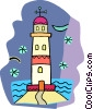 lighthouse Vector Clip Art image