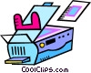photocopier Vector Clip Art graphic
