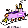 steam train Vector Clip Art picture