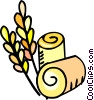 Vector Clipart graphic  of a wheat