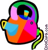 Vector Clip Art graphic  of a kettle
