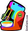 electric mixer Vector Clipart picture