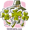 Vector Clip Art picture  of a St Patrick's day