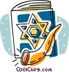 star of David, book of David Vector Clip Art picture