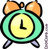 alarm clocks Vector Clipart graphic