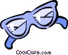 Vector Clip Art picture  of a sun glasses
