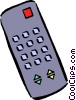 remote control Vector Clipart graphic