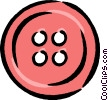 red button Vector Clip Art graphic