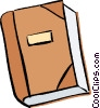Vector Clipart graphic  of a book