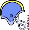 football helmet Vector Clip Art picture