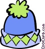 Vector Clipart graphic  of a winter hat