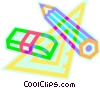 Vector Clip Art image  of a pencil