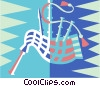 bagpipes Vector Clip Art graphic