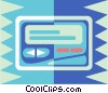 pager Vector Clip Art graphic