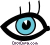Vector Clipart graphic  of a eyes