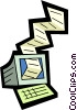 Vector Clipart picture  of a Technology Tools