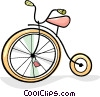 Vector Clipart picture  of a tricycles