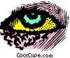 Vector Clipart picture  of a eye