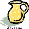 Vector Clip Art picture  of a water jug