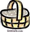 picnic baskets Vector Clip Art graphic