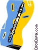 flute Vector Clipart illustration