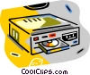 CD players Vector Clipart illustration