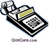 Vector Clipart picture  of a calculator