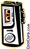 Vector Clipart picture  of a tape recorder