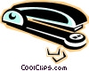 Vector Clip Art picture  of a stapler