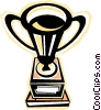 trophy Vector Clip Art graphic