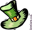 Vector Clipart picture  of a Leprechaun hat
