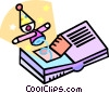 pop up book Vector Clip Art picture