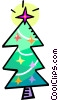 Christmas tree Vector Clip Art graphic