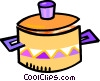 cooking pot Vector Clip Art graphic
