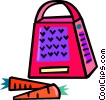 carrot grater Vector Clip Art picture