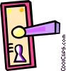 door knobs Vector Clip Art picture