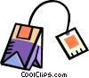 tea bag Vector Clipart picture